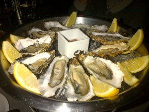 Oysters from Cafe Fish