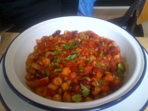 Five bean stew from Woodland Creatures
