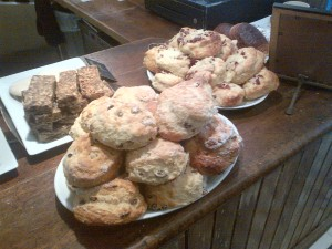 Scones and cakes!