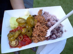 Pulled pork selection