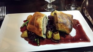 Duck wellington