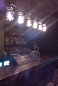 Downstairs bar