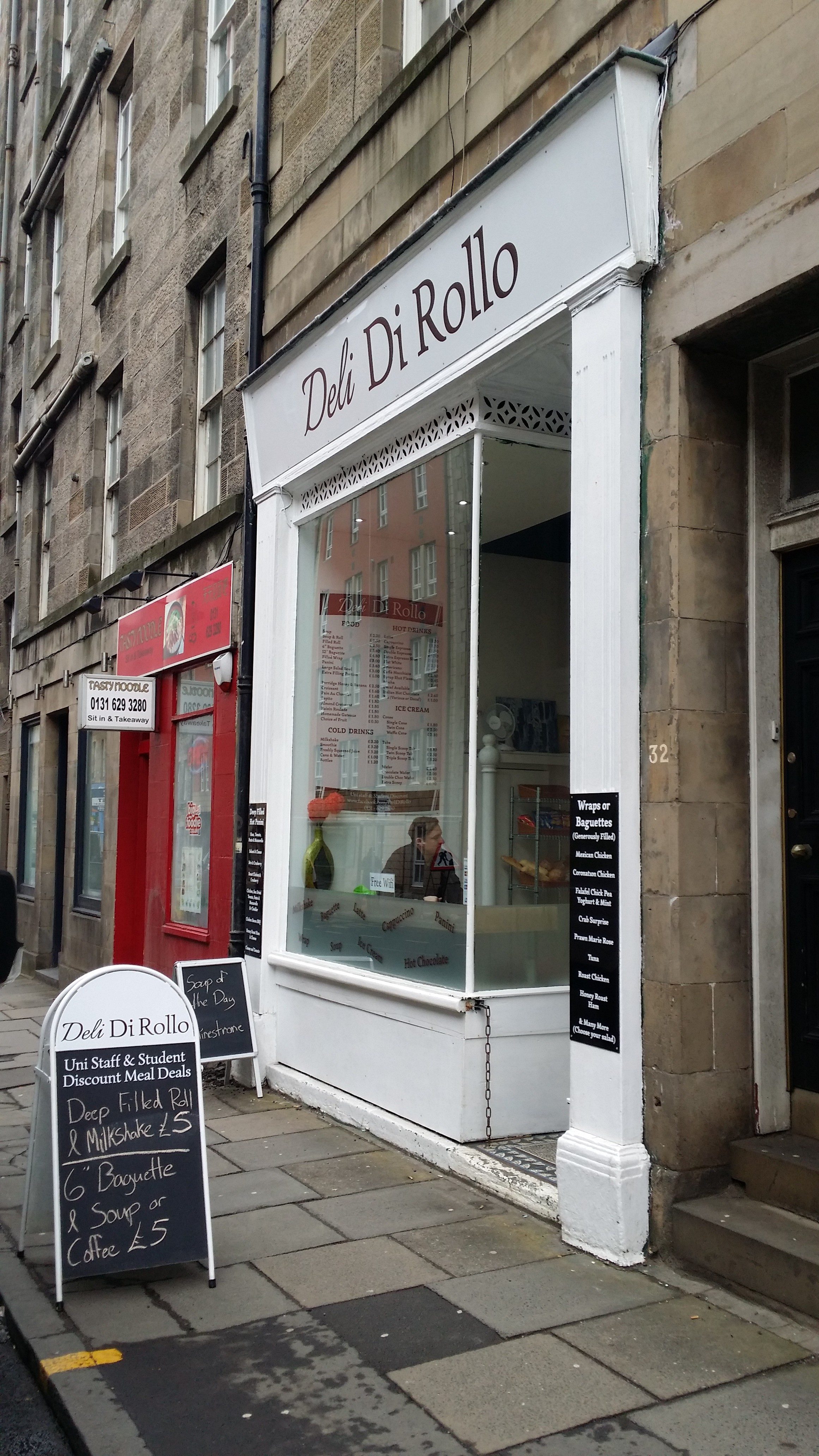 Deli Di Rollo – SADLY NOW CLOSED | Welcome to Lunchquest