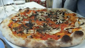 Truffley pizza