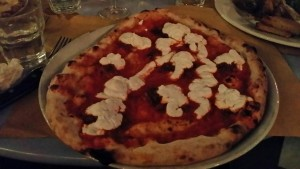 Excellent pizza at Rosti
