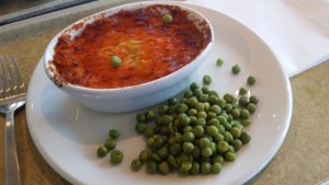 Pie and peas