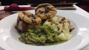 Pies and mash