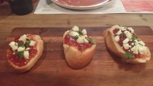 Rubbish bruschetta