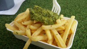 Chips and chimichurri
